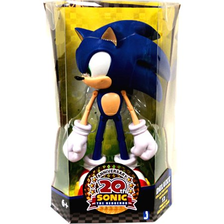 20th Anniversary Sonic the Hedgehog Action Figure [2011 Modern] (Sonic Action Figure Set)