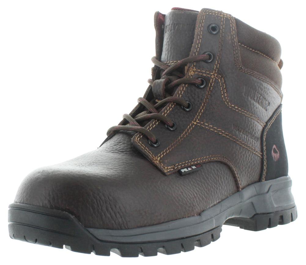 "Wolverine Joliet 6"" Men's Composite Toe Waterproof Work Boots Leather by"