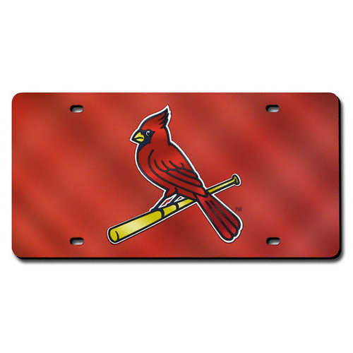 MLB - St. Louis Cardinals License Plate Laser Tag