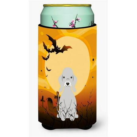 Halloween Bedlington Terrier Blue Tall Boy Beverage Insulator Hugger