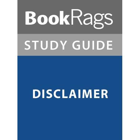 Summary & Study Guide: Disclaimer - eBook