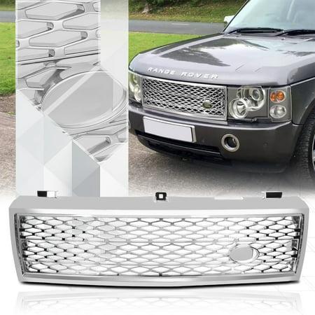 Range Rover Chrome Grill - Glossy Chrome Autobiography Style Grille/Grill for 03-05 Range Rover HSE Sport 04