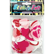 Feltables Shapes-Hearts 68/Pkg