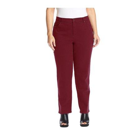 7d837c11c7b Gloria Vanderbilt Women s Plus Size Amanda Classic Tapered Jeans ...