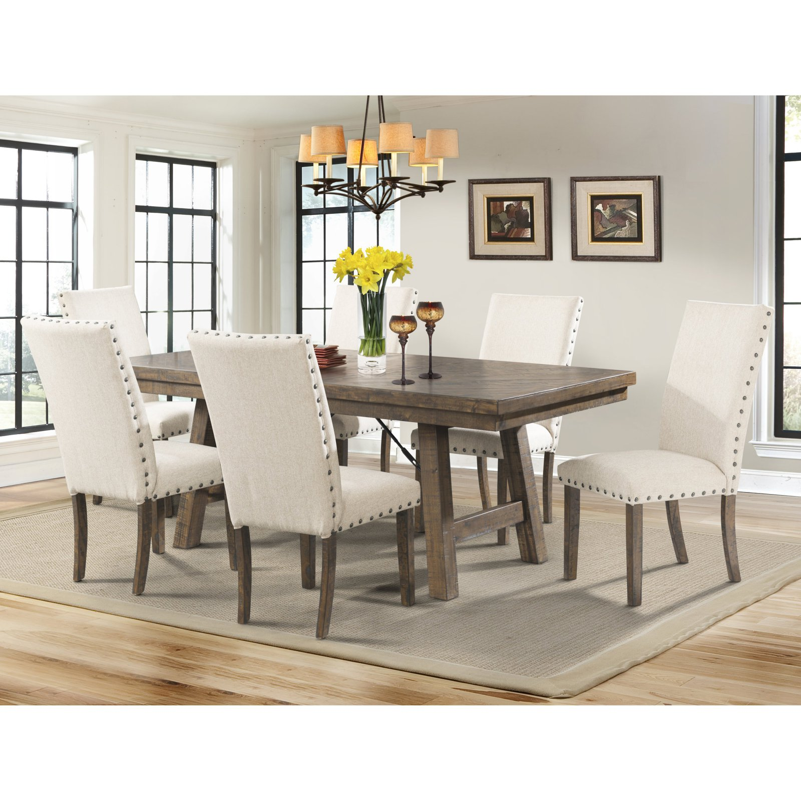 Picket House Dex 7 Piece Dining Table Set