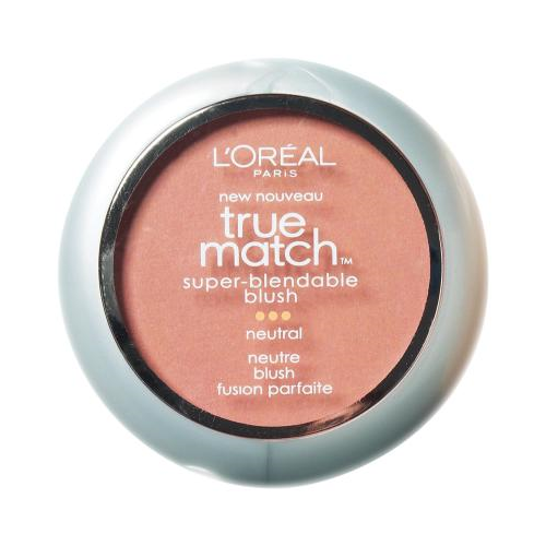 L'Oreal Paris True Match Super-Blendable Blush, Precious Peach, 0.21 Ounce