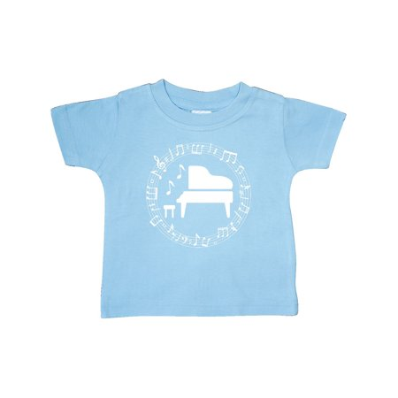 Piano Student Music Teacher Gift Idea Baby T-Shirt (Ideas For Teacher Gifts For Halloween)