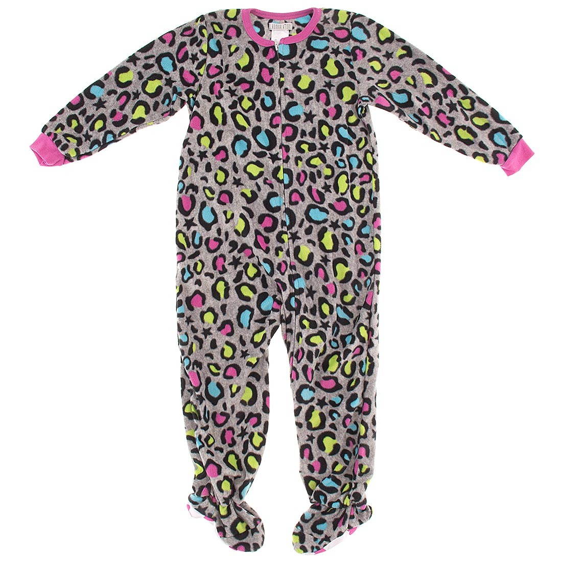 Footed Pajamas for Girls