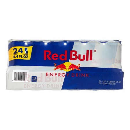 Monster Coffee Energy Drink - Red Bull Energy Drink, 8.4 Fl Oz, 24 Ct
