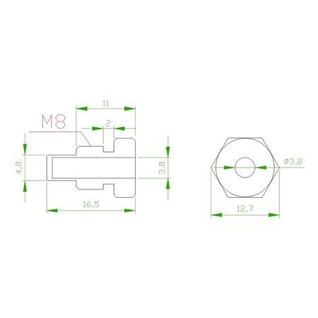 NTC 10k Temperature Sensor Probe Cable Wire for TEMP Controller Thermistor