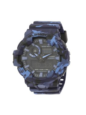 5442fdf0a941 Casio Men s G-Shock GA700CM-2A Blue Resin Quartz Sport Watch