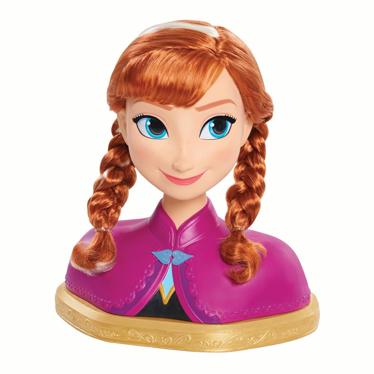 Disney Frozen Anna Deluxe Styling Head