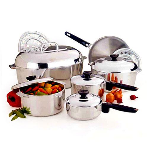 Magnalite 13-Piece Cast-Aluminum Cookware Set by Corelle Brands