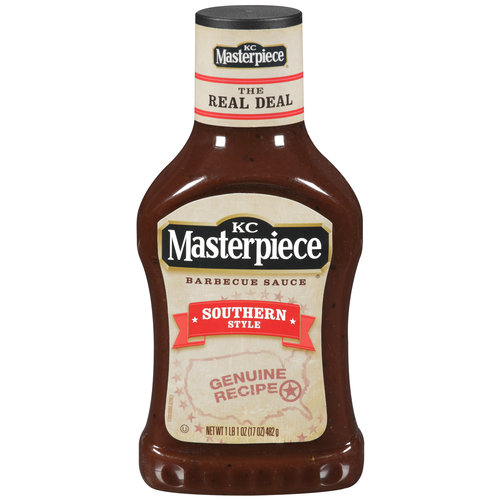 KC Masterpiece Barbecue Sauce, Southern Style, 17 Ounces