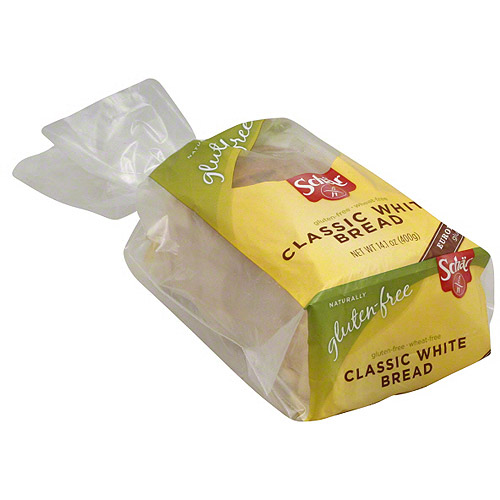 Schar Gluten & Wheat Free Classic White Bread, 14.1 oz (Pack of 6)