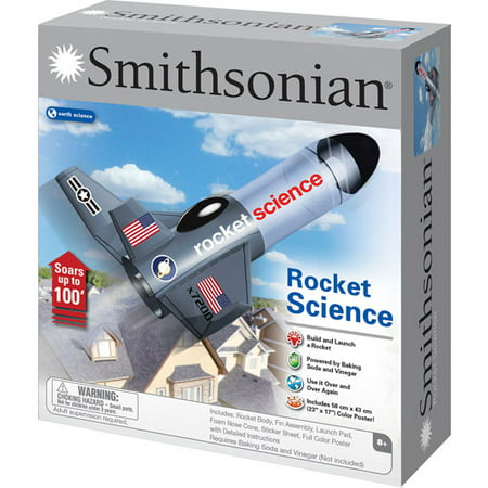 Smithsonian Rocket Science Kit](Science 4 Kids)