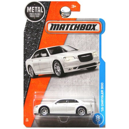 2017 Adventure City 2015 15 Chrysler 300 White, 1:64 Scale Toy Vehicles (Approx. 3 Long) By Matchbox From USA (Usa Toy)