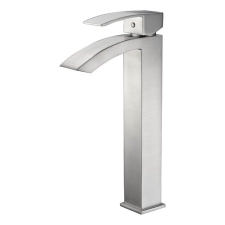 Anzzi  Tutti Single Hole Single-Handle Bathroom Faucet in Brushed Nickel -