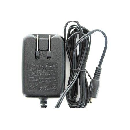 - Refurbished- Blackberry Mini Corded Travel Charger-ASY-12709-001 (Black) *