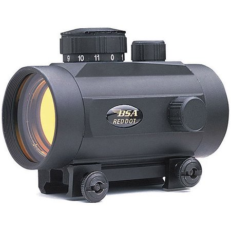 BSA 42mm 5-MOA Red Dot Sight (Best Red Dot Sight For Browning Buckmark)