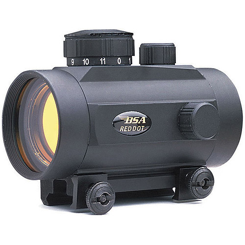 BSA 42mm 5-MOA Red Dot Sight