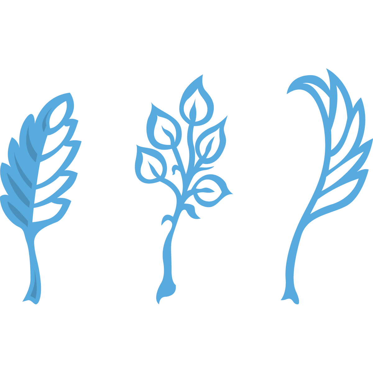"""Marianne Design Creatables Dies-Anja's Leaves, Up To .875""""X2.25"""""""