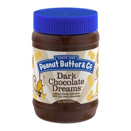 All Natural Peanut Butter   Co  Dark Chocolate Dreams Peanut Butter 16Oz  16 0 Oz