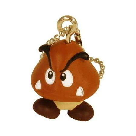 Super Mario Brothers Keychain Goomba - Super Mario Gloves