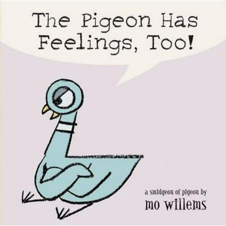 Pigeon Has Feelings Too (Board Book) (Pigeon Brush)