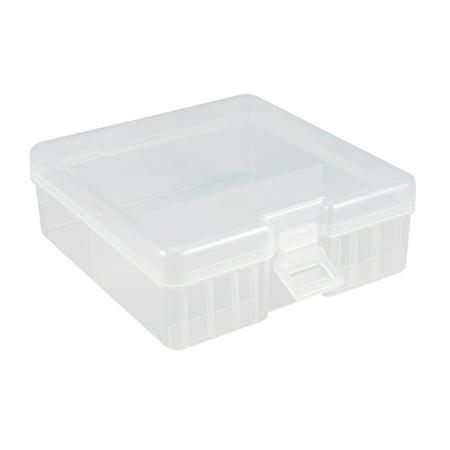 Battery Storage Case Holder Storage Box Transparent 100 x AA Battery Capacity - image 4 of 4