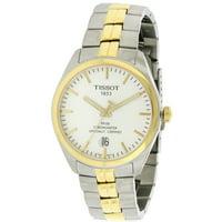 Tissot PR100 Silver Dial Two-tone Men's Watch