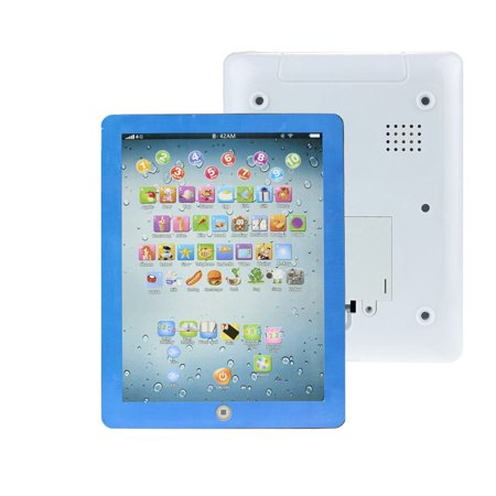 Mosunx Child Touch Type Computer Tablet English Learning Study Machine Toy BU