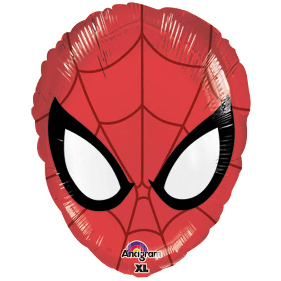 Spiderman Head Shaped Foil Balloon