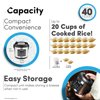 Aroma 20-Cup Programmable Rice & Grain Cooker and Multi-Cooker