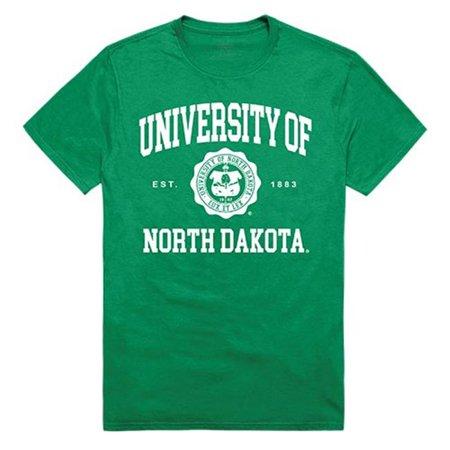 W Republic Apparel 526-141-KEL-05 North Dakota State University Seal Tee, Kelly - 2XL - image 1 de 1