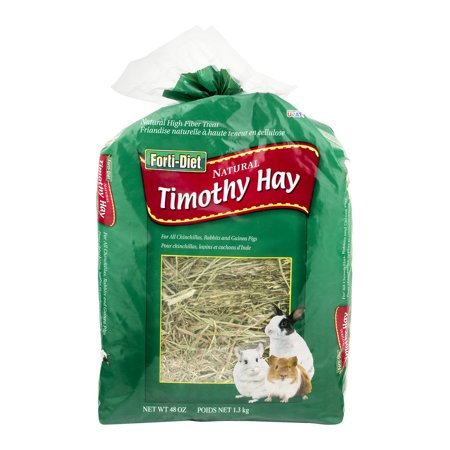 Forti-Diet Natural Timothy Hay, 48 oz. - Rabbit's Foot For Sale