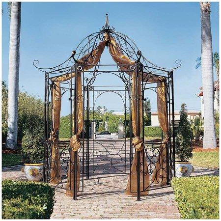 Design Toscano The Amelie Architectural Steel Garden Gazebo ()