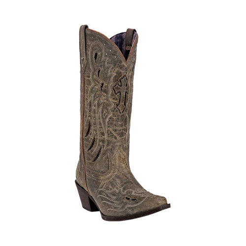 Women's Laredo Cross Wing Cowgirl Boot 52157 by Laredo
