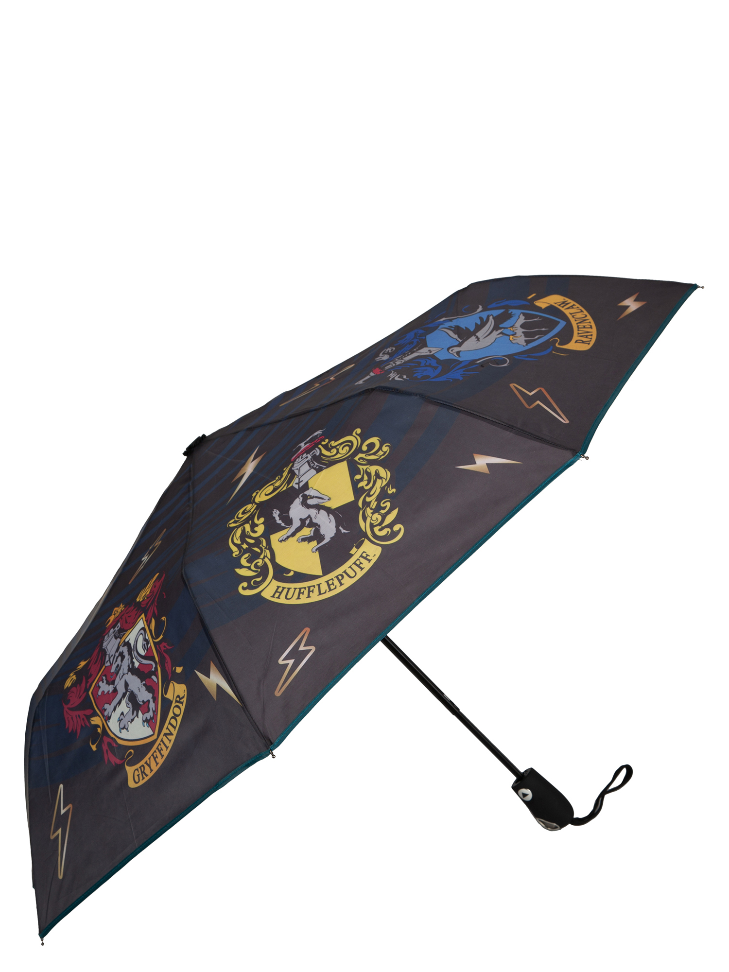 "Harry Potter Hogwarts House Crests 42"" Auto-Open Umbrella"