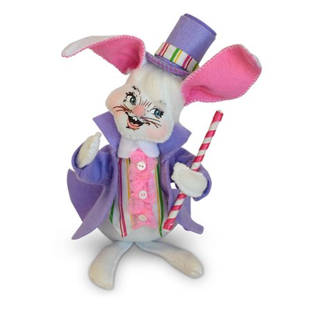 Annalee Dolls 6in 2018 Easter Parade Boy Bunny Plush New with Tags