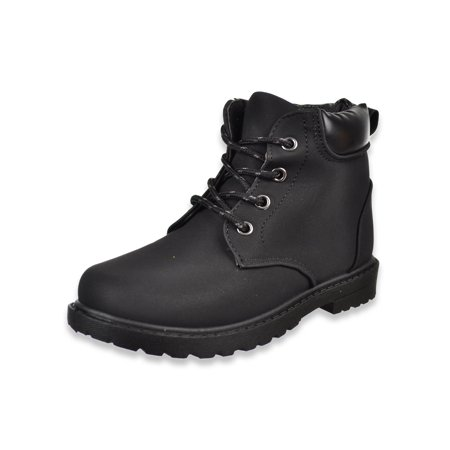 Josmo Boys' Trimmed Basic Boots (Sizes 6 - 4) ()