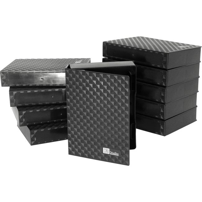 10PK DRIVEBOX FOR 3.5IN HDD