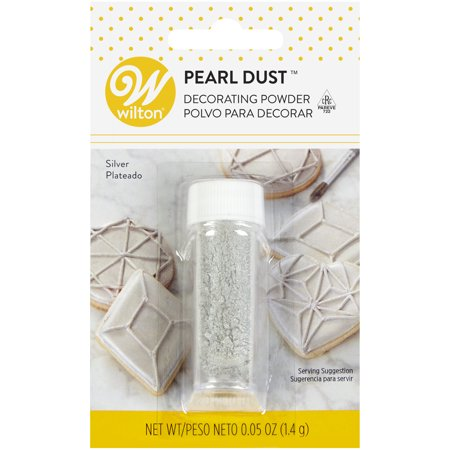 Wilton Silver Pearl Dust, 0.5 oz. ()