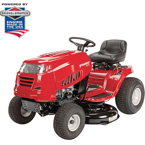 "Murray 42"" 19.5 HP Briggs and Stratton Riding Mower with Automatic Pedal Drive System"