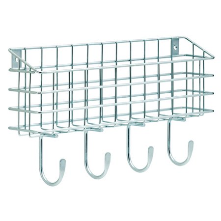 Franklin Brass Industrial Style Wire Mail Holder in Zinc Plated