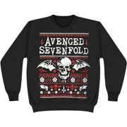 Avenged Sevenfold Men's  Xmas Sweatshirt Black