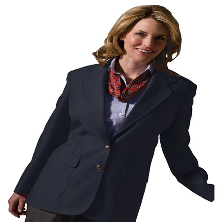 Edwards Garment Women's Two Button Single Breasted Blazer, Style - One Button Single Breasted Blazer