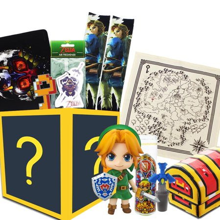 Legend of Zelda Gift Box, Link Nendoroid Figure, Master Sword Wine Cork & More](Legend Of Zelda Sword)
