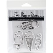 Twp Paper Divas Clear Stamps 6 Inch X 4.5 Inch-Cool Treats