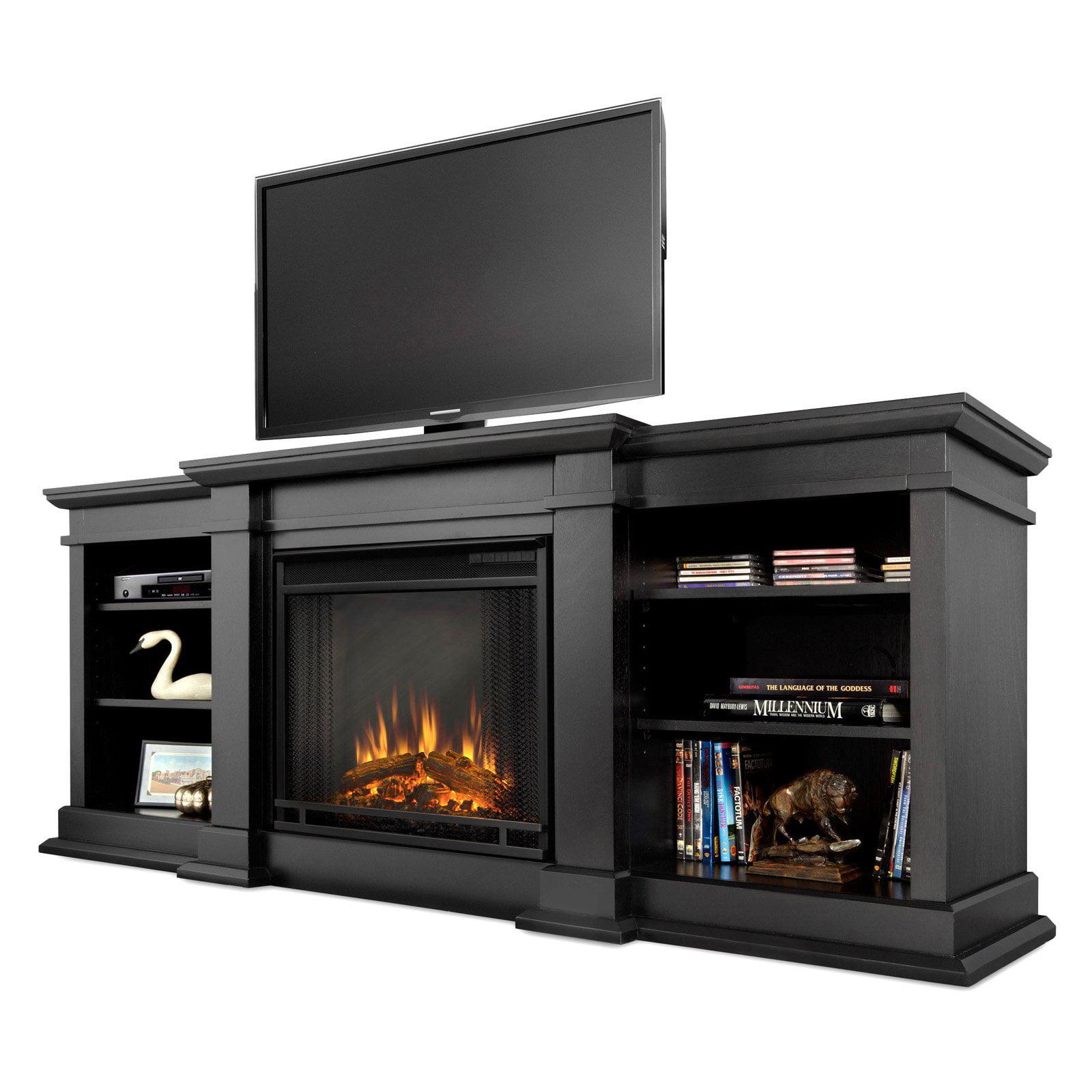 black ideas design and decors idea stand l fireplace tv electric